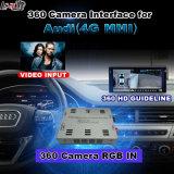 Audi 3G Mmi 시스템 Lvds RGB 신호 입력 던지기 스크린을%s 뒷 전망 & 360 Panorama 공용영역