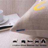 Cassa del cuscino del sofà stampata tela del cotone dell'OEM senza farcire (35C0016)