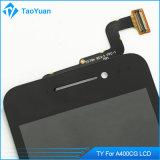 Asus Zenfone 4 A400cg完全なLCDの表示のタッチ画面の計数化装置アセンブリのためのオリジナル