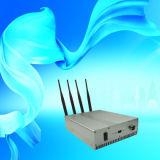 Jammer 3G móvel ajustável controlo remoto com os 40 medidores que atolam o raio