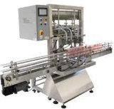 Relleno del polvo y máquina de etiquetado automáticos de la máquina del lacre