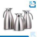 熱い販売1.0L/1.5L/2.0Lの二重壁のステンレス鋼の水差し及びコーヒーCarafe