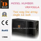 """12 la """" mini ligne le haut-parleur d'alignement (VRX932LA), aèrent la ligne compacte alignement"""