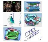 高圧クリーニング機械プラスチックハウジングの型および鋳造物