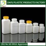 bottiglia quadrata di plastica dell'HDPE 50ml-250ml