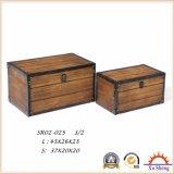 Contenitori di regalo di legno della mobilia domestica con colore naturale