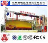 Im Freien farbenreiche P8 LED Baugruppen-Bildschirm-Bildschirmanzeige
