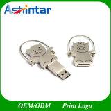 Lecteur flash USB USB Pendrive en métal de mémoire du porc USB de dessin animé