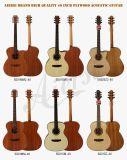 Гитара горячего тела размера перемещения сбывания миниого акустическая