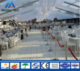 La tienda clara para la boda de Romatic con la tela clara del PVC adornó