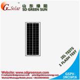 el panel solar polivinílico 10W para la luz solar
