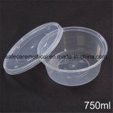 Envase de alimento plástico disponible del embalaje de la ampolla de 1000ml PP de la seguridad respetuosa del medio ambiente de la salud
