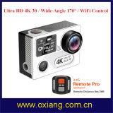 Камера 4k 30fps действия спорта WiFi камера спорта 170 градусов