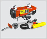 Mini élévateur électrique de câble métallique avec le contrôle de C.C