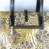 일본 새로운 여자의 형식 핸드백 노트북 PU 핸드백