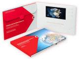3.5 '' tarjetas de visita video de las tarjetas de felicitación del folleto del LCD