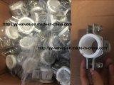 Edelstahl-Hex-Rohr Aufhänger mit PVC-Insert