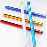 A folha de carimbo quente colorida do laser aplica-se para o lápis/ofícios de madeira