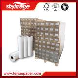 carta da trasporto termico asciutta rapida di larghezza di 90GSM 1370mm per stampaggio di tessuti di sublimazione