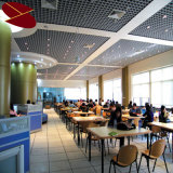 la ISO de 75*75m m certifica el techo de aluminio de la red del precio de fábrica
