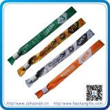Ein Zeit-Gebrauch-Satin-Farbband-Gewebe-Sublimation-Armband