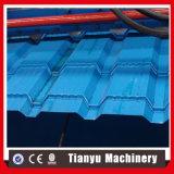 Rolo vitrificado da folha da telha de telhado que dá forma à máquina para o mercado de Afican