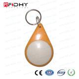 Control de acceso RFID Keyfob de la atención del tiempo hecho por el material de ABS
