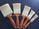 Щетка краски любимчика с деревянной ручкой