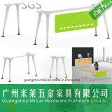 新しい現代設計事務所の机のステンレス鋼のフィート