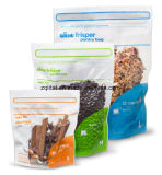 Saco de pé do alimento do empacotamento plástico do animal de estimação com Zipper