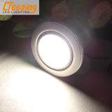 超細い鋼鉄LEDキャビネットライト