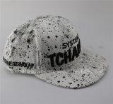 Boné de beisebol e chapéu impressos da Espirrar-Tinta do ponto do estilo forma nova