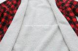 Chemise de plaid de femmes d'épaississement