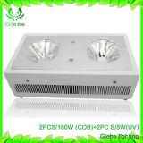 LED-Pflanze wachsen hellen 230W 2PCS 90W PFEILER LED, die volles UVspektrum LED Lichter für Innenpflanzen wachsen