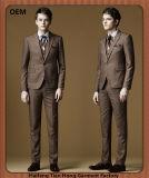 カスタム新しい方法人のための3つの部分のウェディングドレスのスーツ