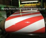 Tamanho 0.35mm x bobina de aço galvanizada impressa 1000mm para o mercado de Paquistão