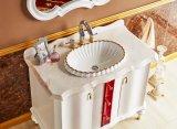 Антикварный дизайн Дубовый шкаф для ванной комнаты Sw-63028-10