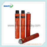 Tube compressible en aluminium vide de empaquetage de crème de main de teinture de cheveu de produit de beauté