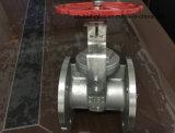 Válvula de porta do aço inoxidável do sistema do água da torneira