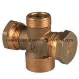 Латунный санитарный клапан для трубы водопровода