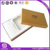 Cadre de empaquetage de seul de produit cadeau électronique fait sur commande de papier
