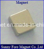 Aimant de néodyme du cube N52 en assurance qualité d'approvisionnement d'usine