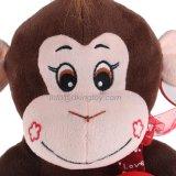견면 벨벳 사랑하고 있는 심혼을%s 가진 동물에 의하여 채워지는 원숭이 장난감