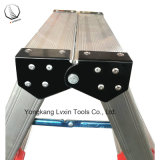 De draagbare Ladder van de Kruk van de Stap van het Aluminium Lichtgewicht