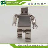 Le robot marqué de vente chaud de bâton en métal a formé l'entraînement de crayon lecteur de flash USB