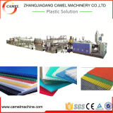 2100mm pp PC Hollow Sheet Extrusion Machine met Single Screw