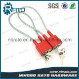 승진 높은 안전 키 유사하 케이블 전자총 자물쇠