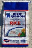 25kg beau sac de riz de l'impression BOPP avec différentes couleurs