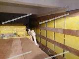Lane di vetro acustiche dell'isolamento della vetroresina applicate per coprire e murare isolamento