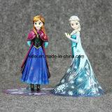 Anime de plastique de PVC congelé en gros d'Elsa et d'Anna